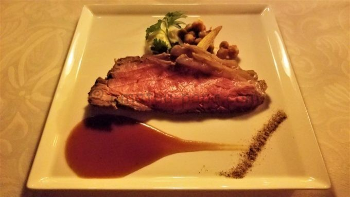 ブルーバイユー・レストランの「ローストビーフ、グレイヴィーソース」