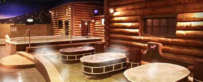 スパワールド 世界の大温泉の温泉「フィンランド」