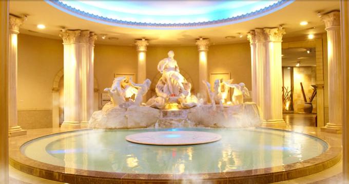 スパワールド 世界の大温泉の温泉「ローマ」