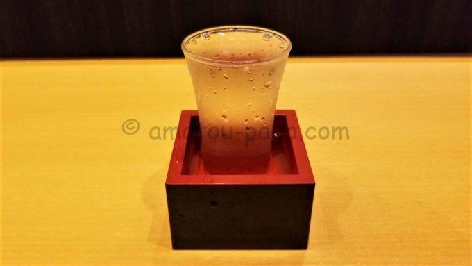 魚民の白鶴特別純米酒 山田錦