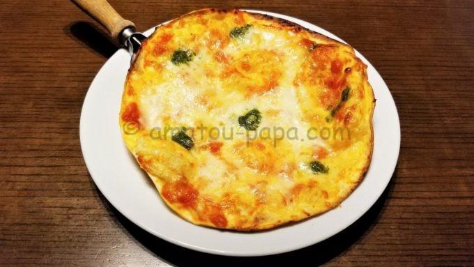 坐・和民のクリスピーおつまみ マルゲリータピザ