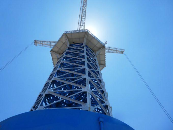 生駒山上遊園地の飛行塔
