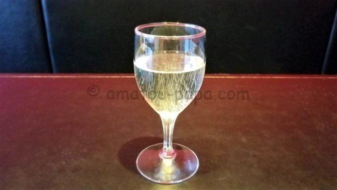 モンテローザの誕生日クーポン特典(スパークリングワイン)