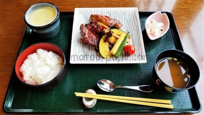 レストラン櫻の銘柄鶏の竜田揚げ膳