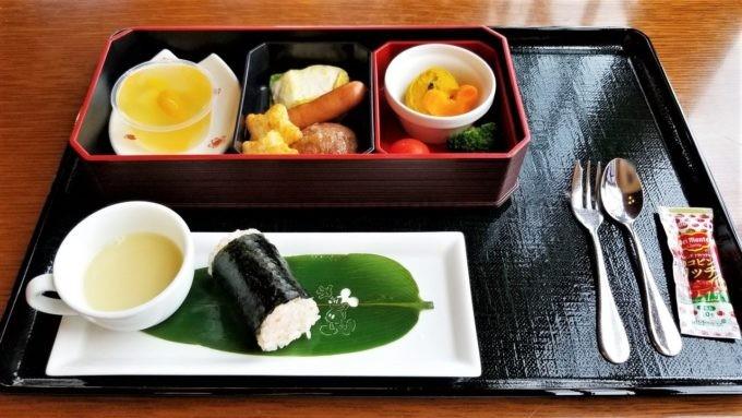 レストラン櫻のお子様メニュー「スチームボート・セット」