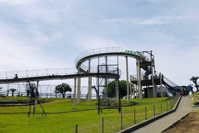 伊豆ぐらんぱる公園の滑り台
