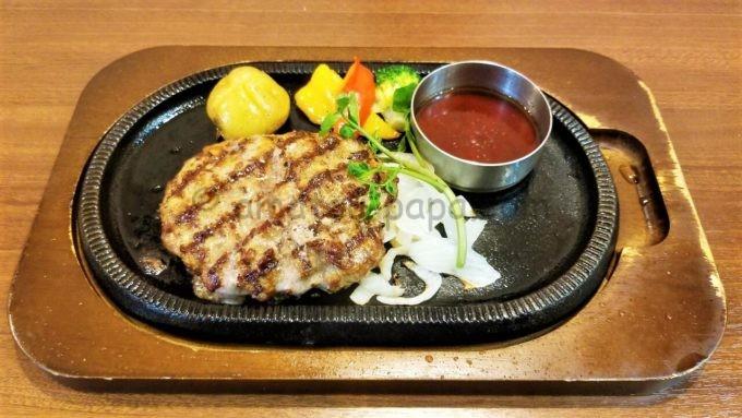 レストラン・スエヒロ館の国産牛プレミアムスエヒロハンバーグセット