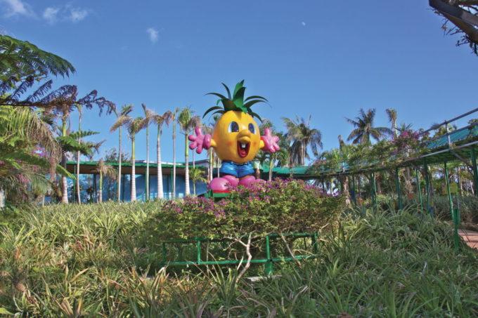 ナゴパイナップルパークのキャラクター