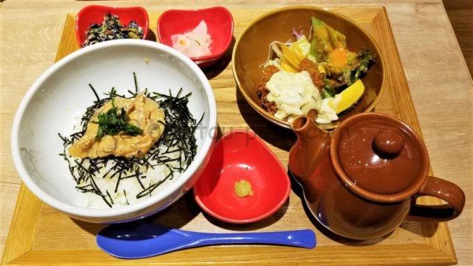 和ごはんとカフェchawanの長崎県産真鯛のだし茶漬け