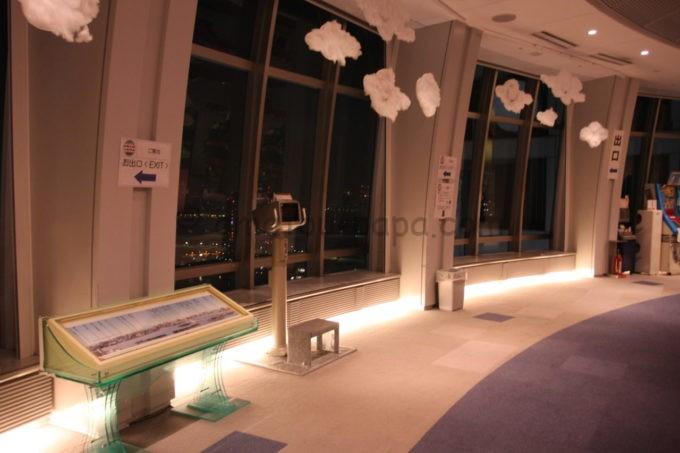 フジテレビ球体展望室「はちたま」の雰囲気