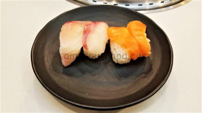 じゅうじゅうカルビの寿司