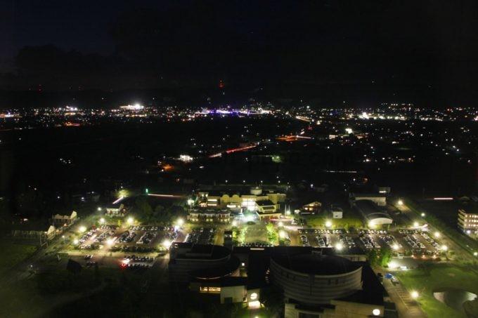 クロスランドタワーからの夜景