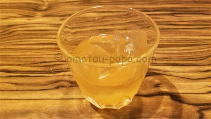 楽蔵の柚子梅酒