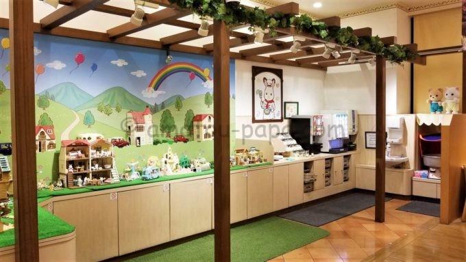 シルバニア森のキッチン レイクタウンアウトレット店の雰囲気