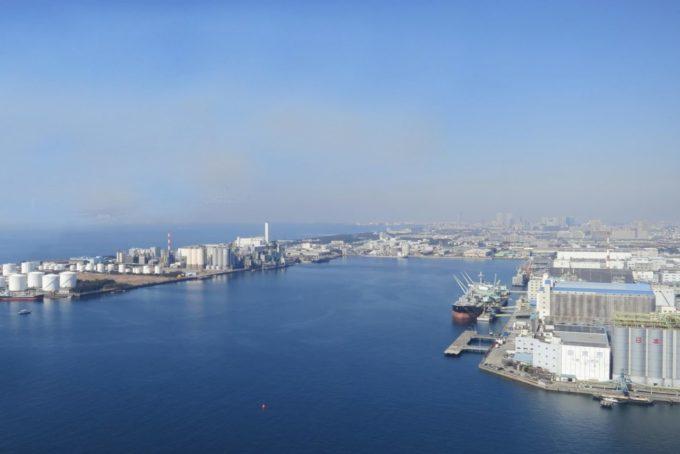 千葉ポートタワーからの眺め