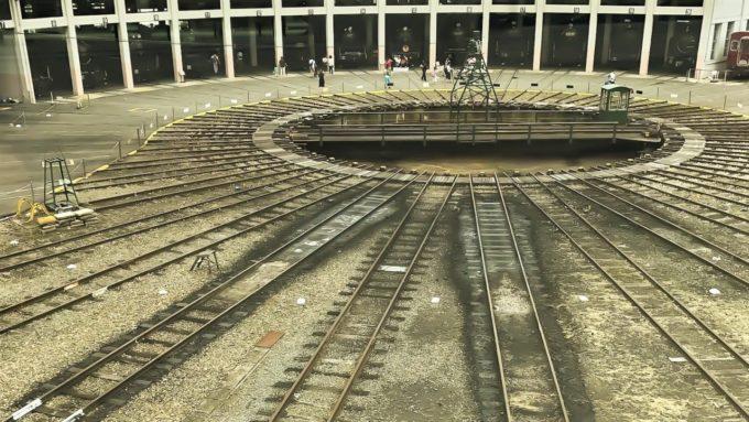 京都鉄道博物館の転車台