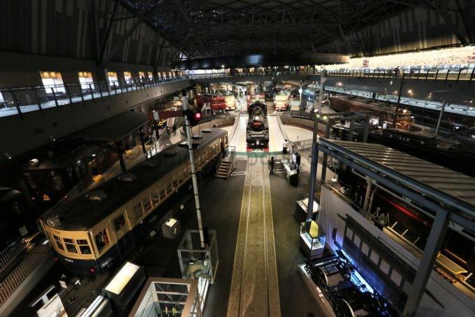 鉄道博物館(てっぱく)の雰囲気