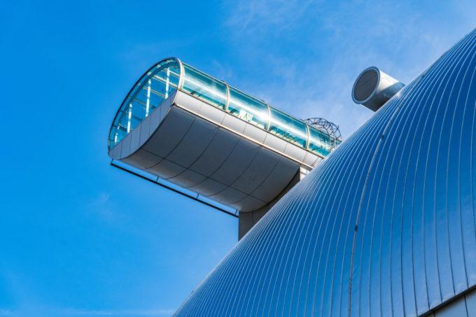 札幌ドーム展望台の外観
