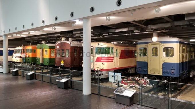 リニア・鉄道館の電車