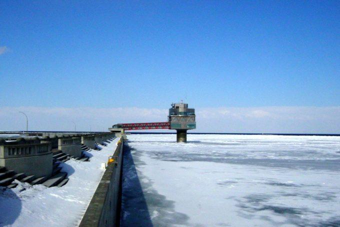 氷海展望塔オホーツクタワーの外観