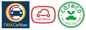 オリックスカーシェア・カリテコ・カレコのロゴ