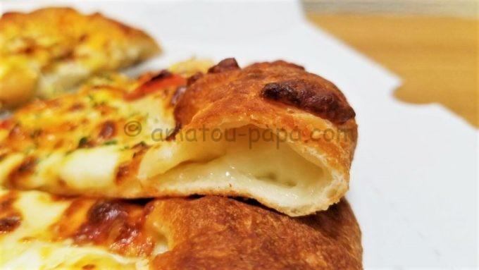 ピザハットのチーズクラスト
