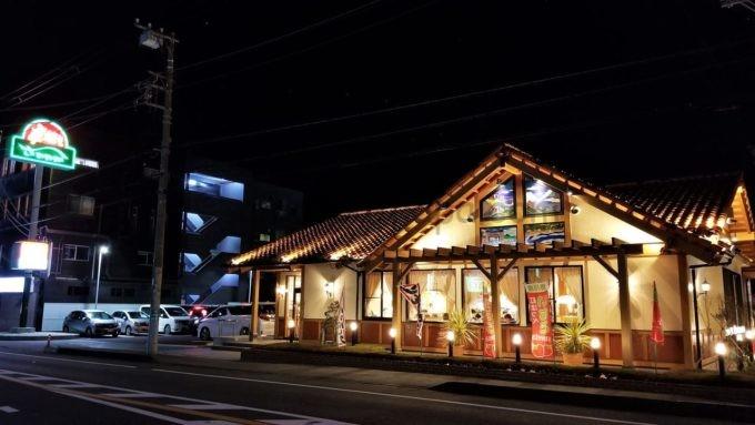 げんこつハンバーグの炭焼きレストランさわやかの店舗外観