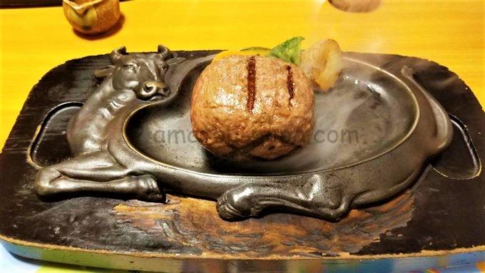 げんこつハンバーグの炭焼きレストランさわやかの「げんこつハンバーグ」