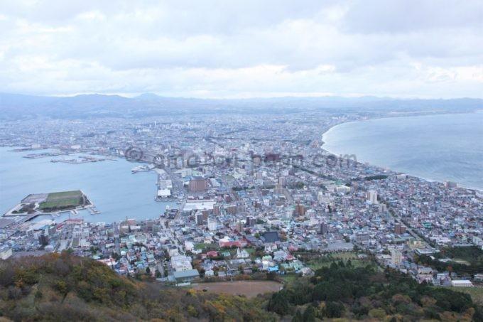 函館山からの眺める風景