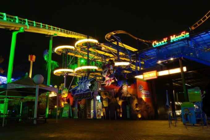 ひらかたパークの夜景