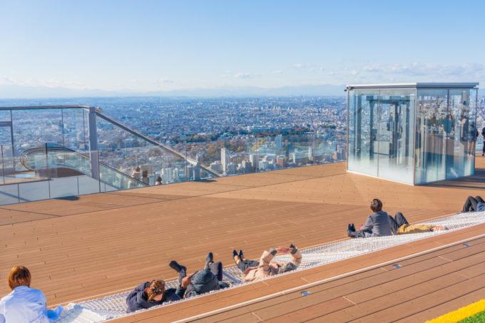 渋谷スクランブルスクエアの展望台「渋谷スカイ」の雰囲気
