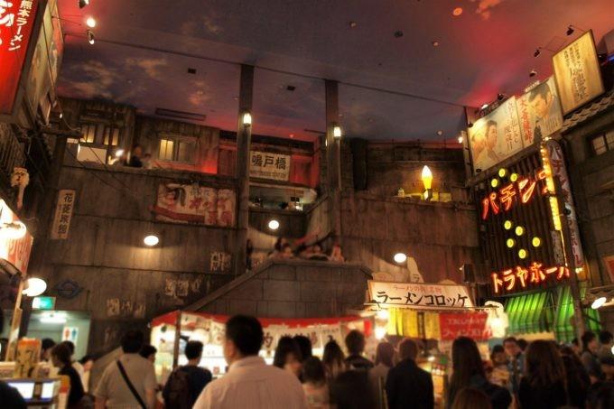 新横浜ラーメン博物館の雰囲気