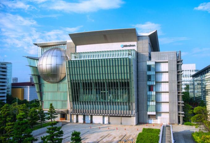 日本科学未来館の外観