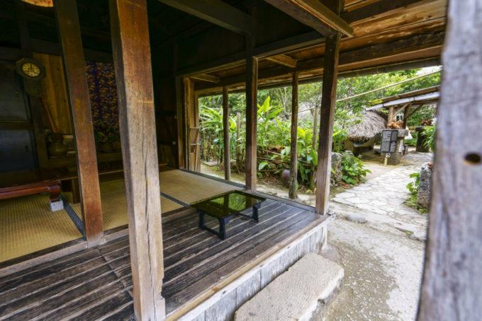 琉球村にある部屋(和室)