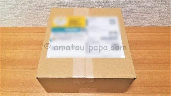 株式会社ポプラからポプラ菓子珍味Aセットが届いた時の箱