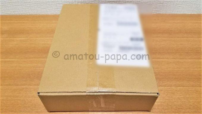 株式会社トランザクションの株主優待品が届いた時の箱