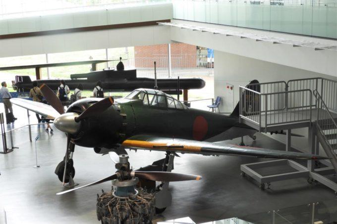 大和ミュージアム(呉市海事歴史科学館)の零式艦上戦闘機六二型