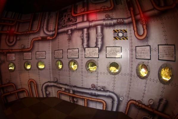 すさみ町立エビとカニの水族館の海底探検潜水艇