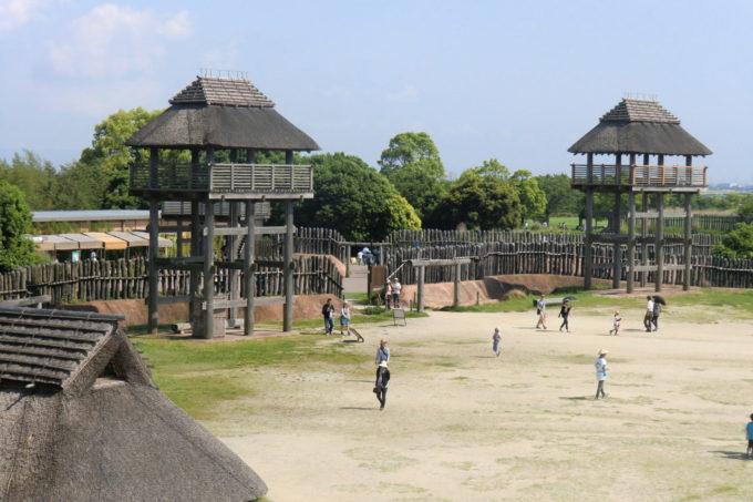 吉野ヶ里遺跡の物見櫓(ものみやぐら)
