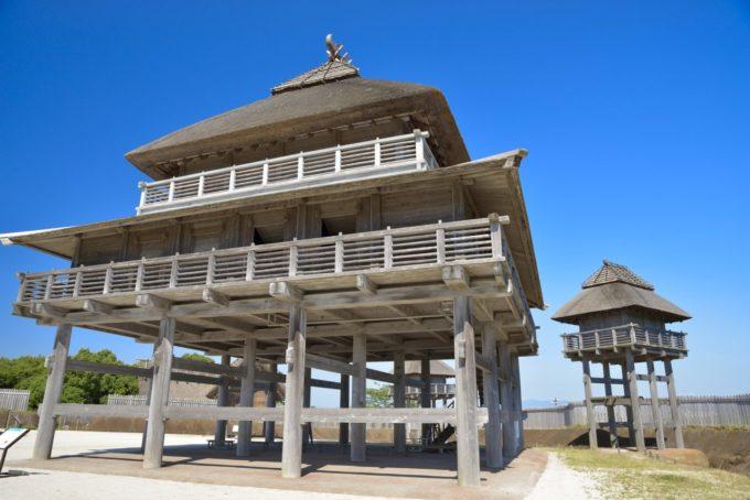 吉野ヶ里遺跡の主祭殿(しゅさいでん)
