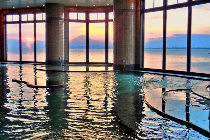 江の島アイランドスパ(えのすぱ)の富士海湯