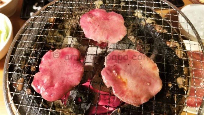 元氣七輪焼肉「牛繁」の牛タン
