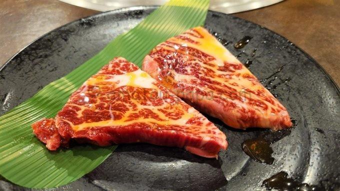 焼肉 宝島の奥羽牛ステーキ