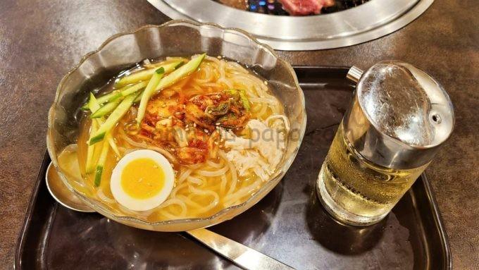 焼肉 宝島の特製冷麺