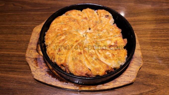 九州熱中屋の博多一口鉄板餃子