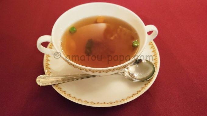 マゼランズのスープ(ビーフコンソメ)