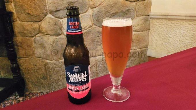 マゼランズのビール(サミュエルアダムス)