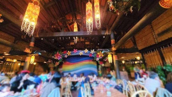 ポリネシアンテラス・レストランの雰囲気