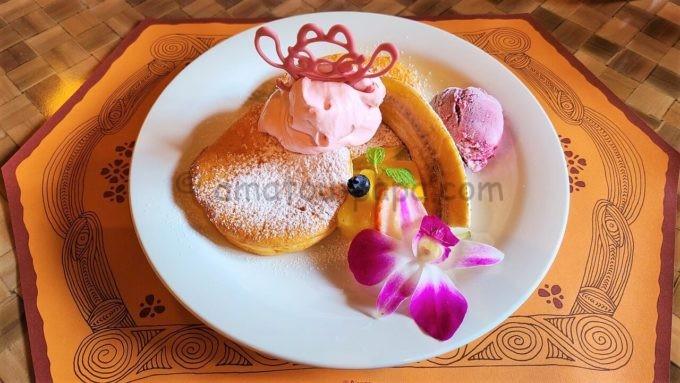 ポリネシアンテラス・レストランのお子様パンケーキ