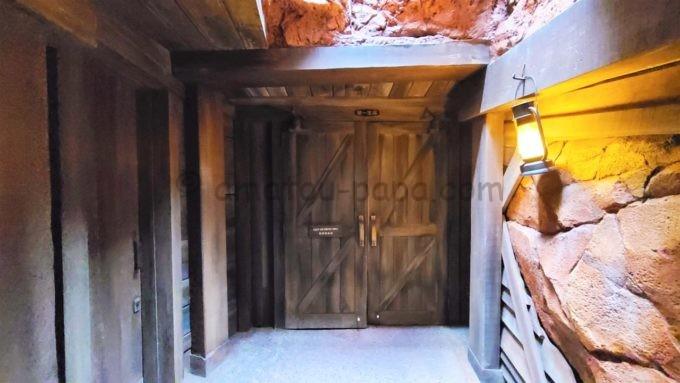東京ディズニーランドの第一生命ラウンジの入り口